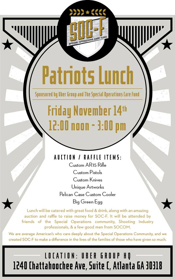 SOC-F Patriots Lunch