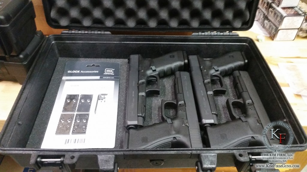Box of New Glock MOS